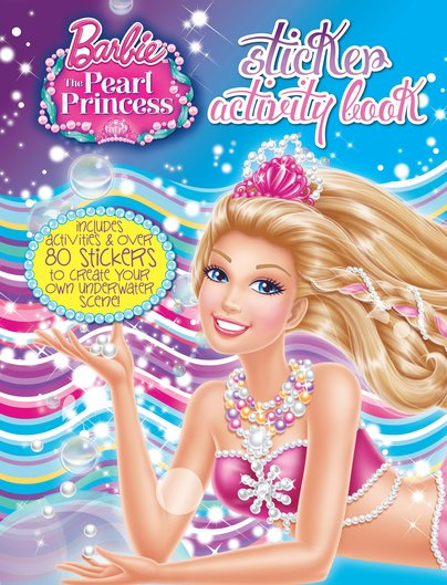 Barbie and the Pearl Princess: Sticker Activity Book