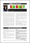 Bob Marley - Resource Sheets and Answers (4 pages)