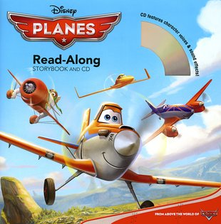Disney Planes: Read-Along Storybook and CD