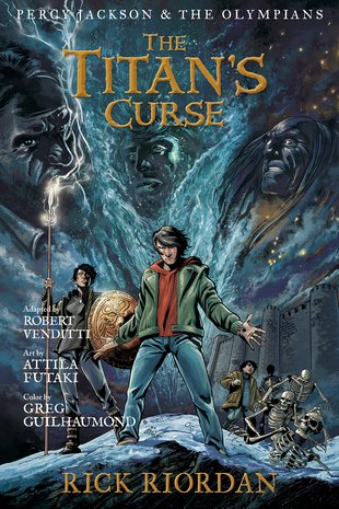 Percy Jackson and the Olympians: The Titan's Curse Graphic Novel