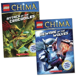 LEGO Legends of Chima: Chapter Book Pair