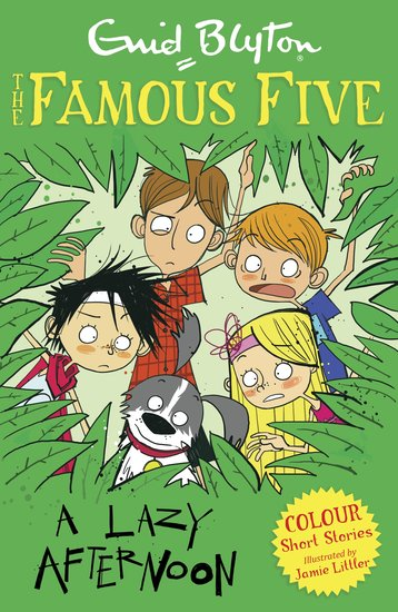 Famous Five Colour Reads: A Lazy Afternoon