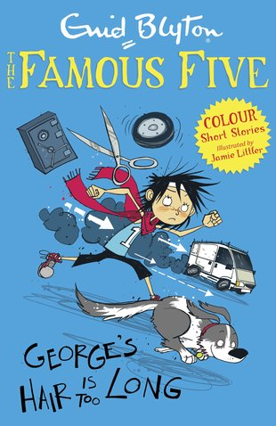 Famous Five Colour Reads: George's Hair is Too Long
