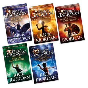 Percy Jackson Pack x 5