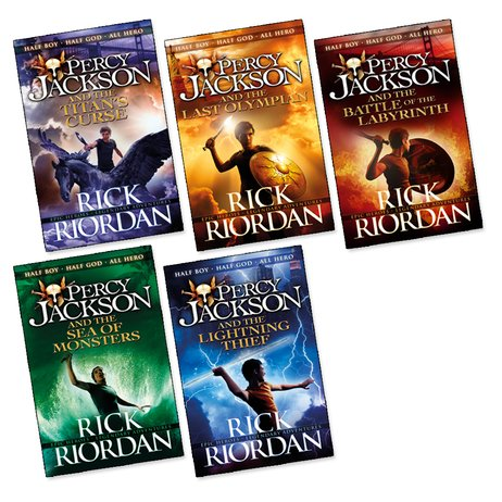 percy jackson books 1 5