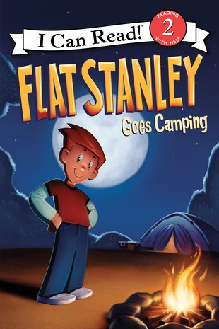 I Can Read! Flat Stanley Goes Camping