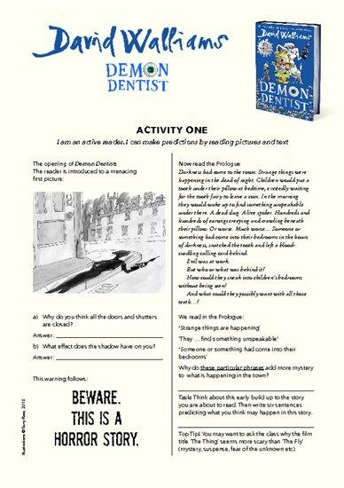 Demon Dentist Teachers' Resources