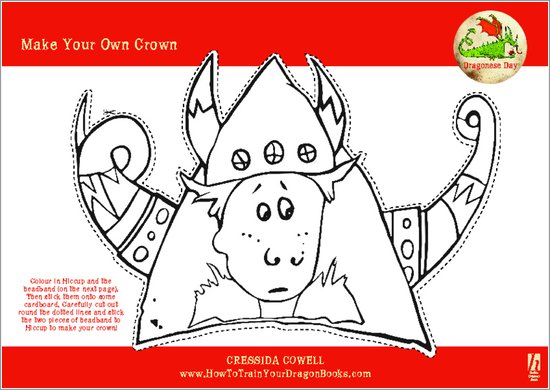 How To Train Your Dragon Make a Crown