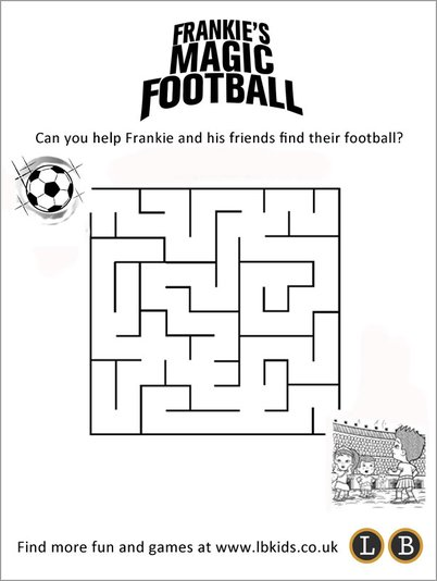 Frankie's Magic Football maze