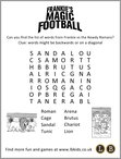 Frankie's Magic Football puzzle