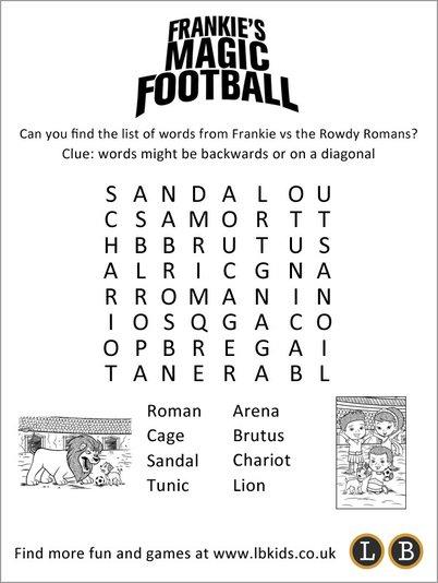 Frankie's Magic Football puzzle