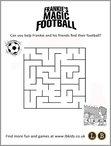 Frankie's Magic Football maze