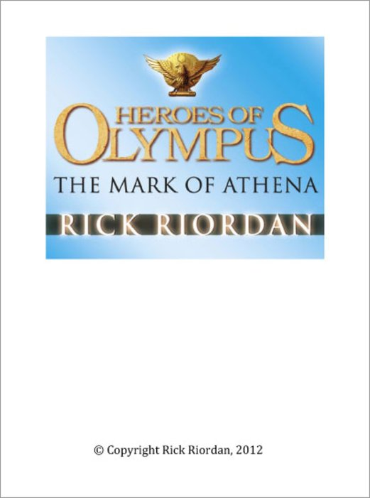mark of athena one pager After consuming the mark of athena  one thing riordan loves to do is turn cliches on their  during the description of the argo ii on page 2,.