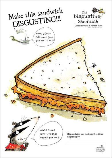 Disgusting Sandwich drawing