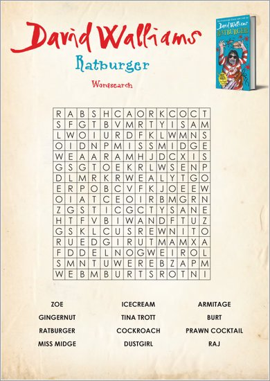 Ratburger wordsearch