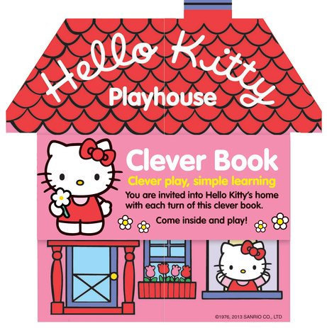 Clever Books: Hello Kitty Playhouse