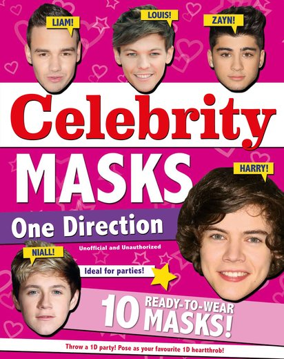 Celebrity Masks: One Direction