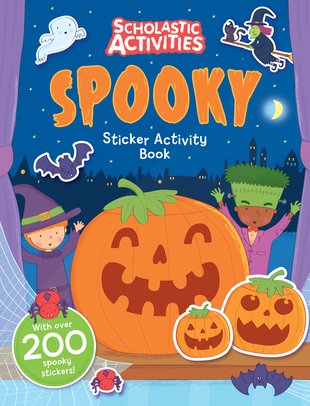 Spooky Sticker Activity Book