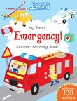 My First Emergency! Sticker Activity Book