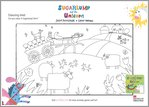 Sugarlump and the Unicorn Colouring