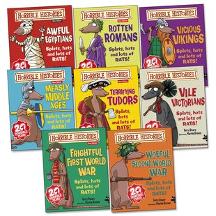 Horrible Histories Pack (New Editions)