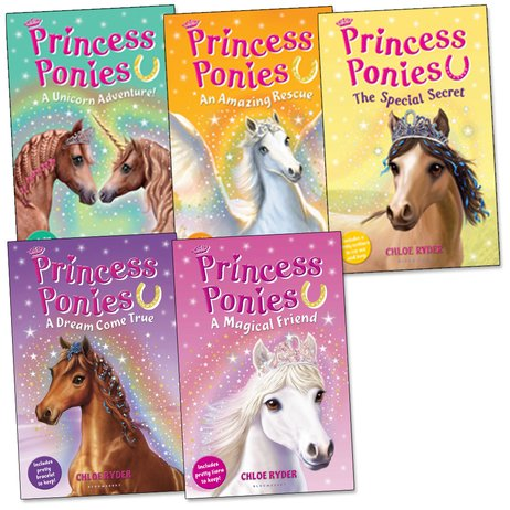 Princess Ponies Pack x 5