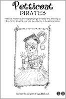 Petticoat Pirate Colouring
