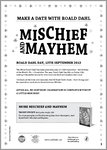 Dahl Day Mischief & Mayhem Activity Pack (14 pages)