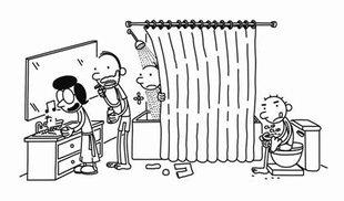 Wimpy Kid Hard Luck cartoon