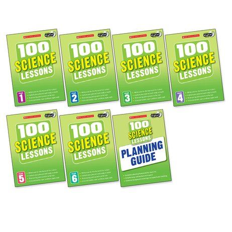 100 Science Lessons for the 2014 Curriculum Set x 7