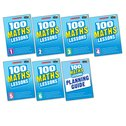 100 Maths Lessons for the 2014 Curriculum Set x 7
