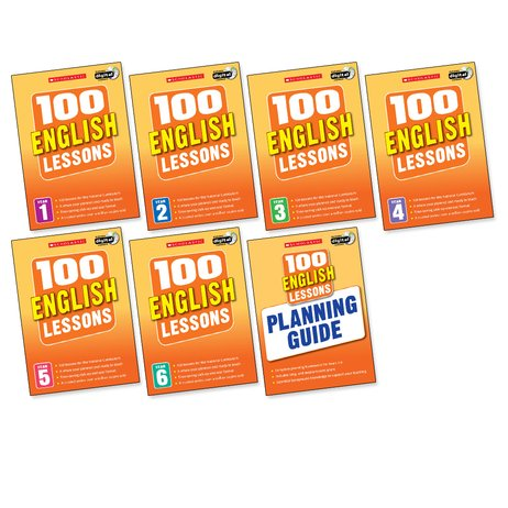 100 English Lessons Set x 7