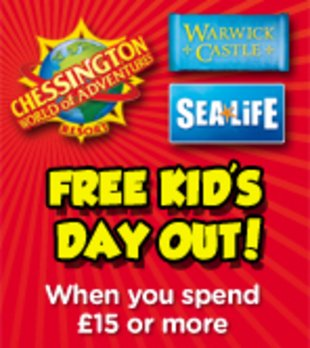 Book Clubs Free Kids Day Out Voucher