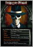 Skulduggery Pleasant Character Card