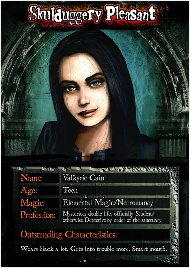 Valkyrie Character Card