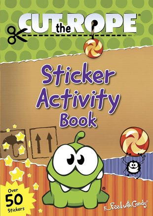 Cut the Rope: Sticker Activity Book