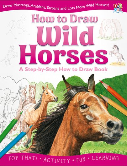 How to Draw Wild Horses
