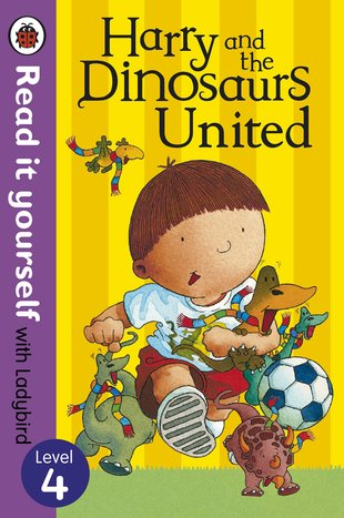 Ladybird Read It Yourself: Harry and the Dinosaurs United