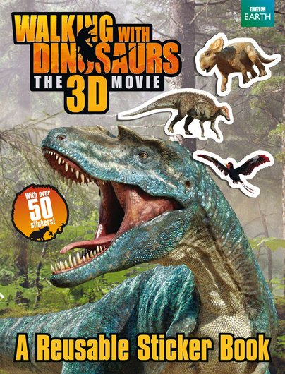 Walking With Dinosaurs Sticker Book