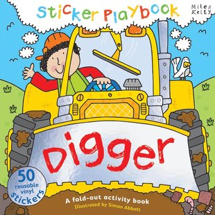 Digger Sticker Playbook