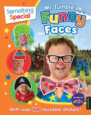 Mr Tumble's Funny Faces Sticker Book