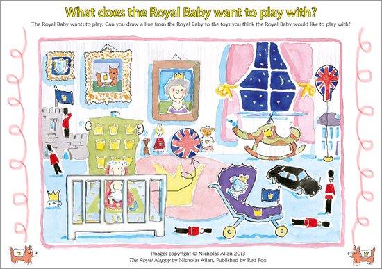 Royal Nappy puzzle sheet