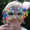 Glittery mask