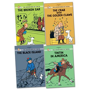Tintin Graphic Young Readers Pack x 4