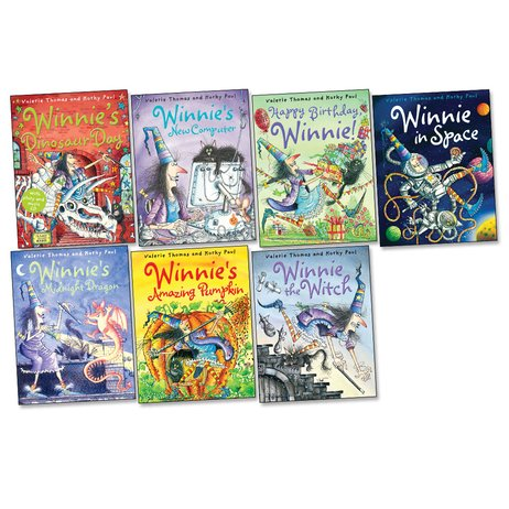 Winnie the Witch Picture Books Pack