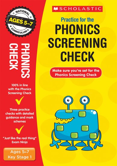 National Curriculum SATs Tests: Practice for the Phonics Screening Check x 30