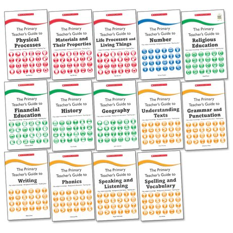The Primary Teacher's Guide Complete Set x 14
