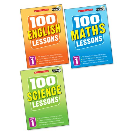 100 Lessons Pack: Year 1 x 3