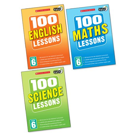 100 Lessons Pack: Year 6 x 3