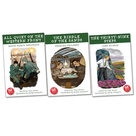 Real Reads: World War One Pack x 3